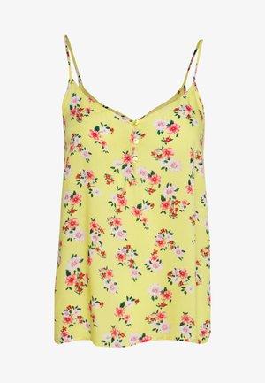 PCNYA - Blouse - lemon drop/summer flower