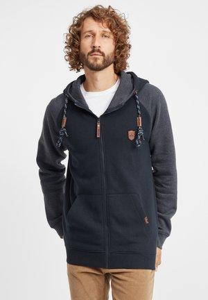 TERENCE - Zip-up hoodie - navy