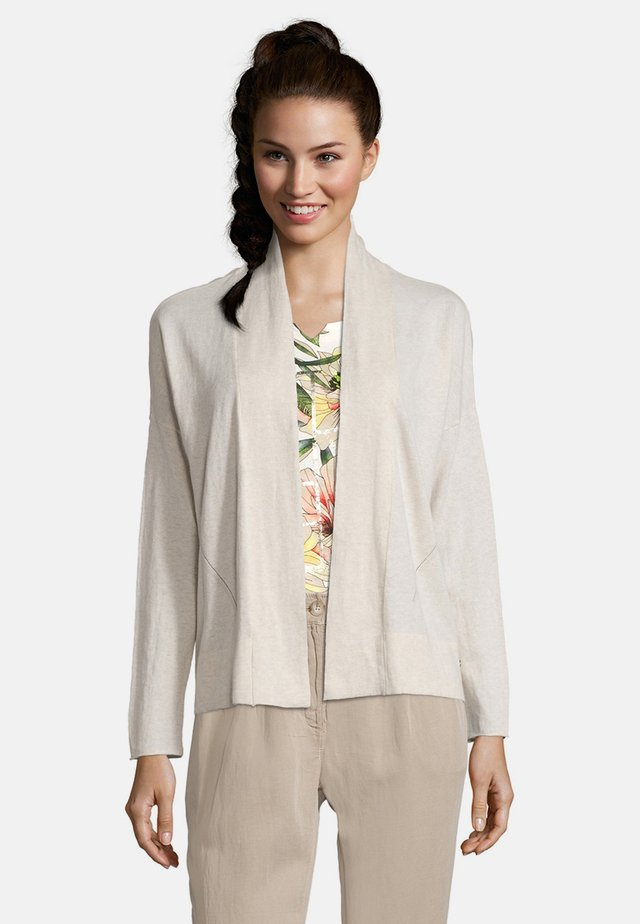 Cardigan - nature melange
