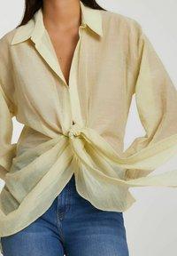 River Island - Button-down blouse - yellow - 3