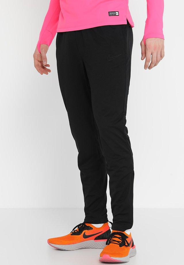 DRY ACADEMY - Spodnie treningowe - black/black/black