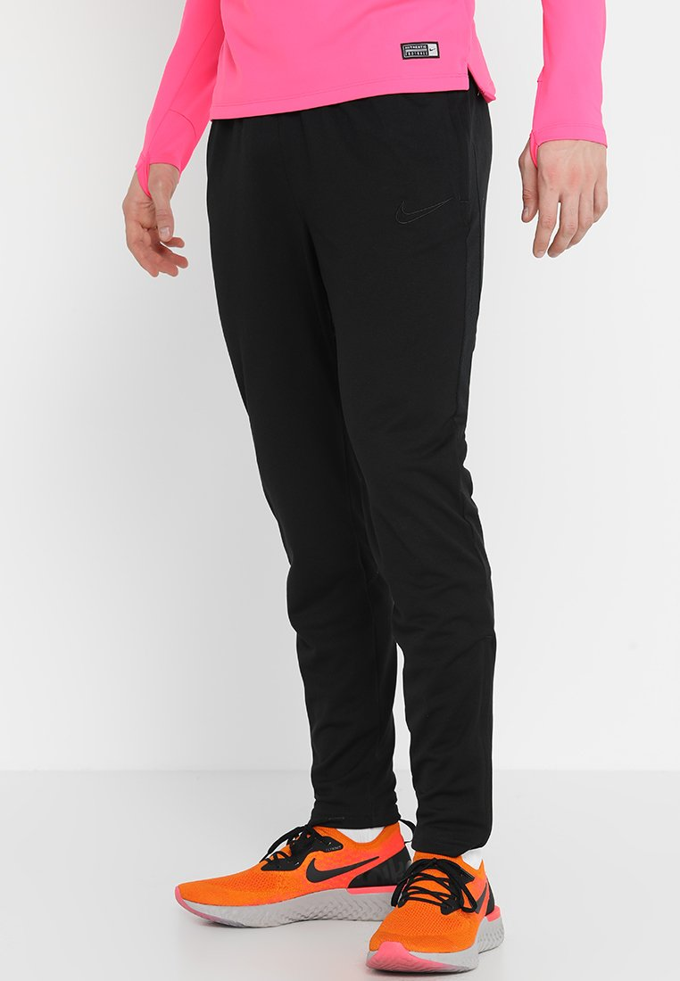 Nike Performance - DRY ACADEMY - Tracksuit bottoms - black/black/black