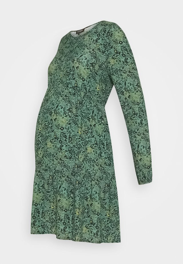 BALZE FIORELLINO - Robe en jersey - green