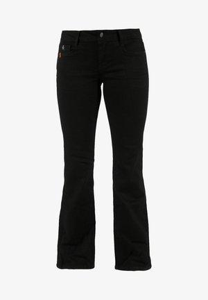 Bootcut jeans - schwarz