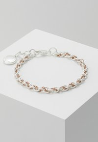 SNÖ of Sweden - SPIKE SMALL BRACE - Bracelet - silver-coloured/roségold - 0