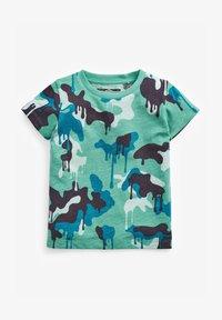 Next - Print T-shirt - blue - 0