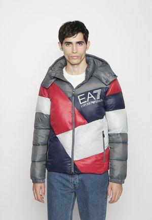 Winter jacket - red/grey