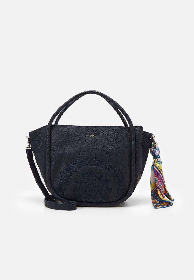 Desigual - BOLS ALESSIA ROTTUM SET - Handbag - azul