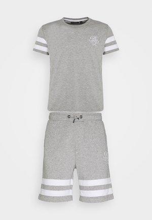 CASALE - Print T-shirt - light grey marl