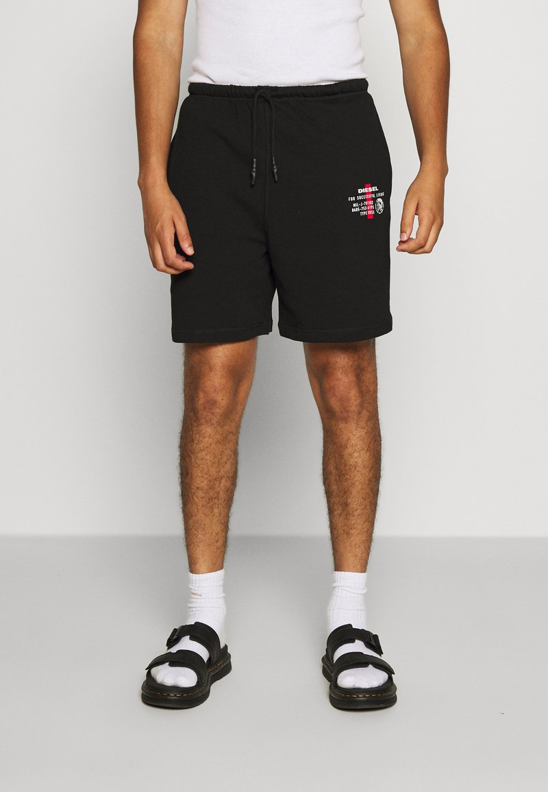 Diesel - EDDY - Shorts - black