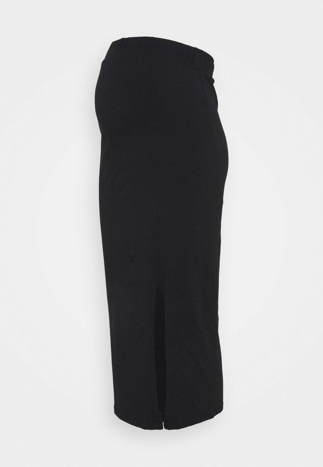 PCMKATIE MIDI SKIRT - Pencil skirt - black
