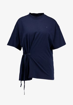 DISEM LOOSE - Print T-shirt - mazarine blue