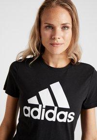 adidas Performance - W MH BOS TEE - Sports shirt - black - 3