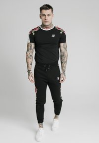 SIKSILK - GYM TEE - T-shirt print - black - 0