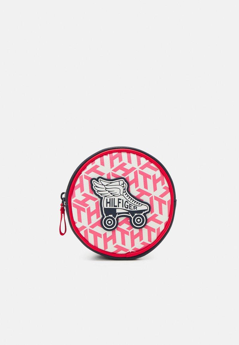 Tommy Hilfiger - GIRLS SEASONAL MONO BUMBAG - Across body bag - deep crimson/cotton candy