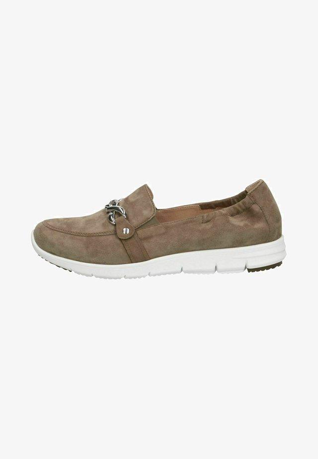 Sneakers - cactus suede