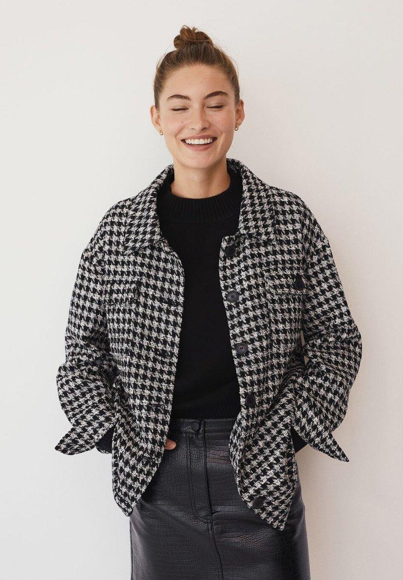 Mango - Summer jacket - zwart