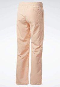 Reebok Classic - CLASSICS TRACKSUIT BOTTOMS - Pantaloni sportivi - orange - 6