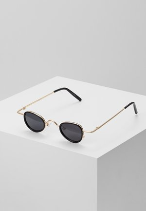 Sunglasses - pale gold-coloured/black