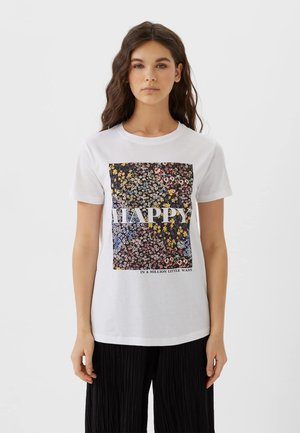 02593489 - T-shirt imprimé - white