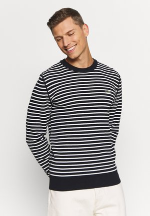 Jumper - dark blue/white