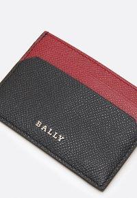 Bally - UNISEX - Wallet - black/red - 5