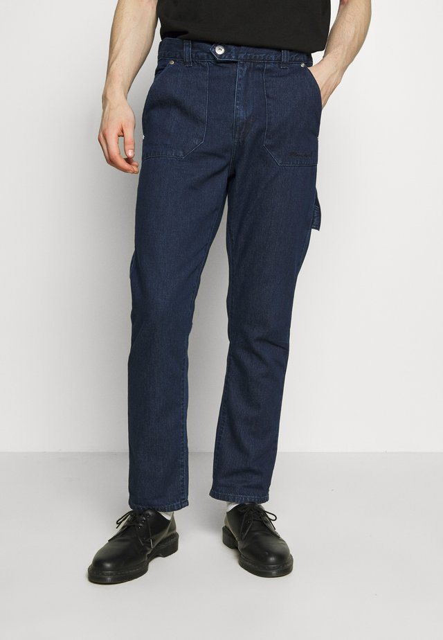 JAKE WORKER TROUSER - Pantaloni cargo - indigo blue