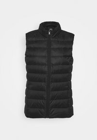 PUFFER GILET - Vest - black