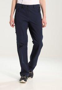 Jack Wolfskin - ACTIVATE WOMEN - Outdoor trousers - midnight blue - 0