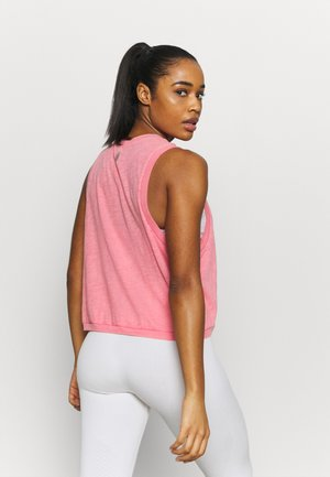 WASHED LOVE TANK ACID - Top - mottled pink