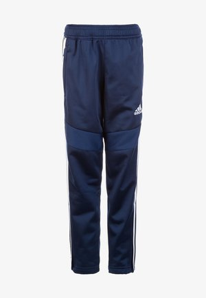 TIRO 19 POLYESTER TRACKSUIT BOTTOMS - Pantalon de survêtement - dark blue/white