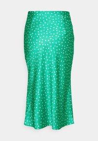 Glamorous - MIDI SKIRT WITH SIDE SPLIT - Pencil skirt - green ditsy - 1