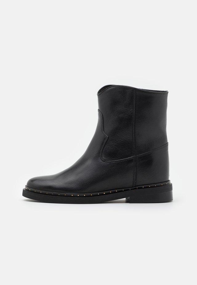 Kotníkové boty - palermo nero