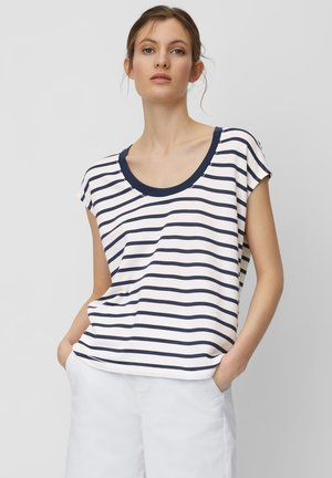 Print T-shirt - white, white