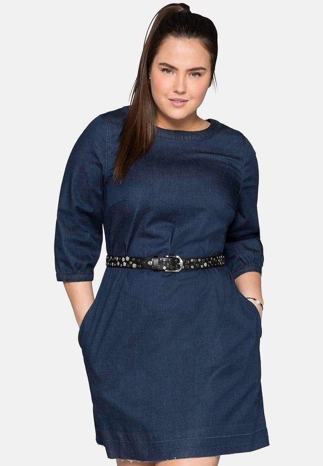 Robe en jean - dark blue denim