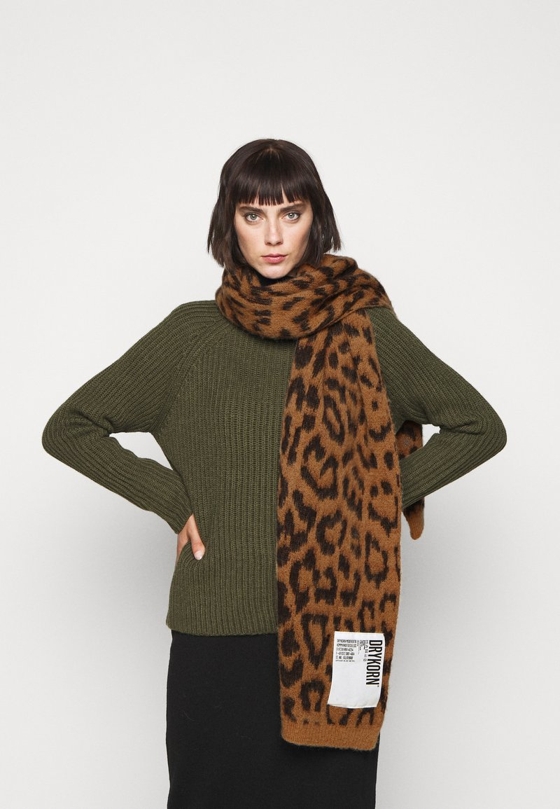 DRYKORN - CRONICA - Scarf - brown