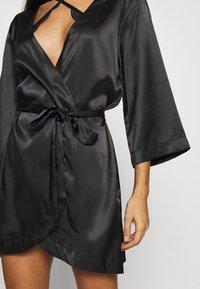 OW Intimates - CANDICE KIMONO - Dressing gown - black caviar - 5