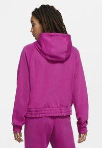Nike Sportswear - Zip-up hoodie - cactus flower/white - 2