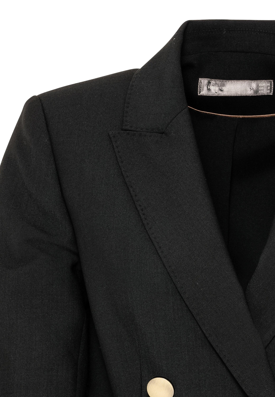 HALLHUBER Kurzmantel schwarz