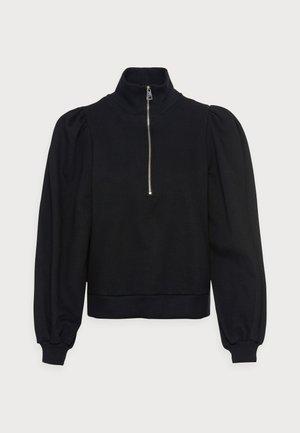 NANKITA ZIPPER SWEATSHIRT - Ikdienas džemperis - black