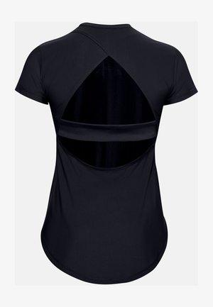 BREATHELUX STRETCH SS - Print T-shirt - black