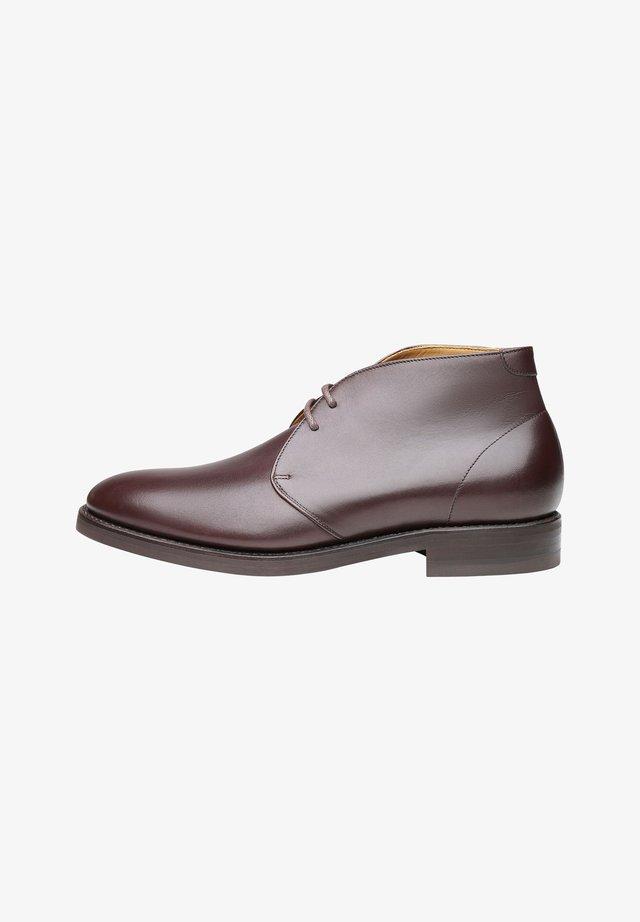 NO. 613 - Stringate eleganti - dark brown