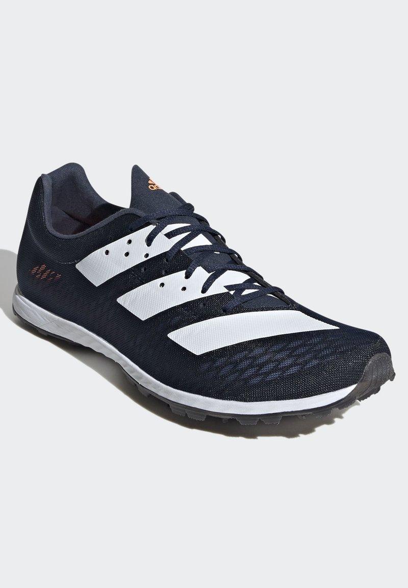 Adidas Performance Adizero Xc Sprint Shoes Neutral Running Shoes Blue Zalando De