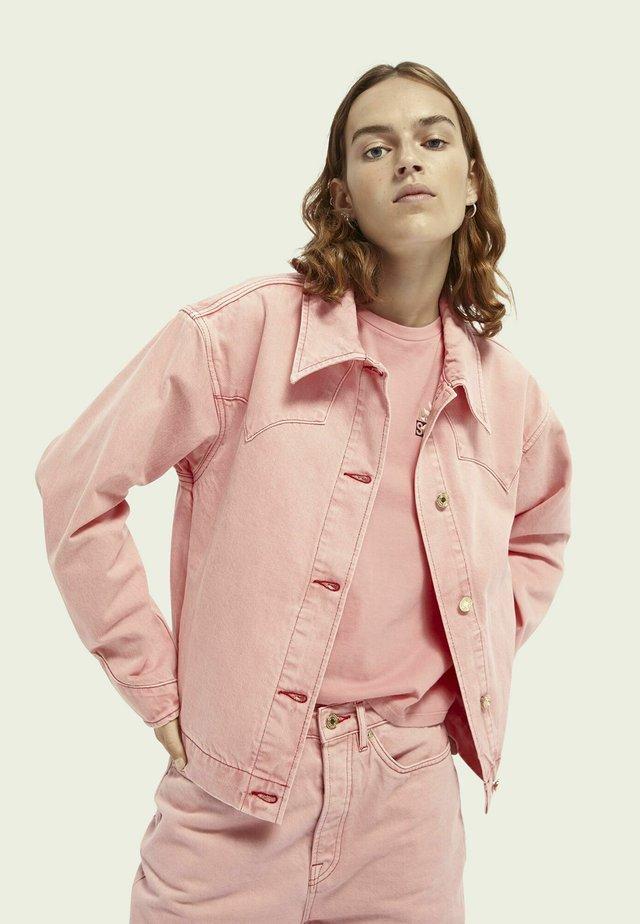 WESTERN - Denim jacket - magic pink