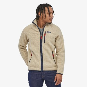 RETRO PILE - Fleece jacket - beige