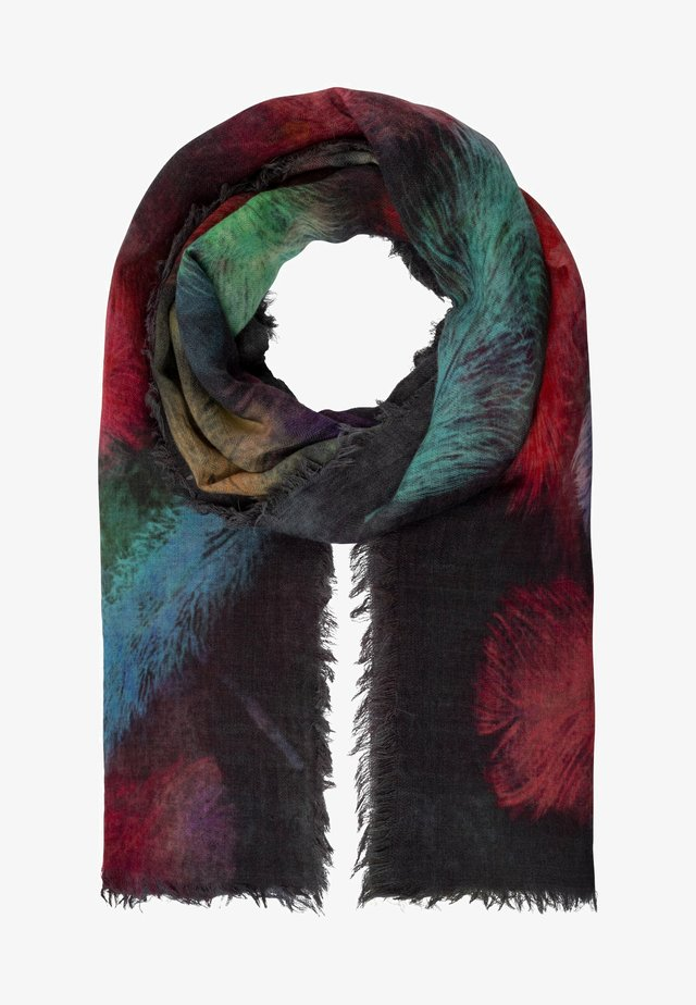 MIT DIGITALPRINT - Écharpe - grau-multicolor