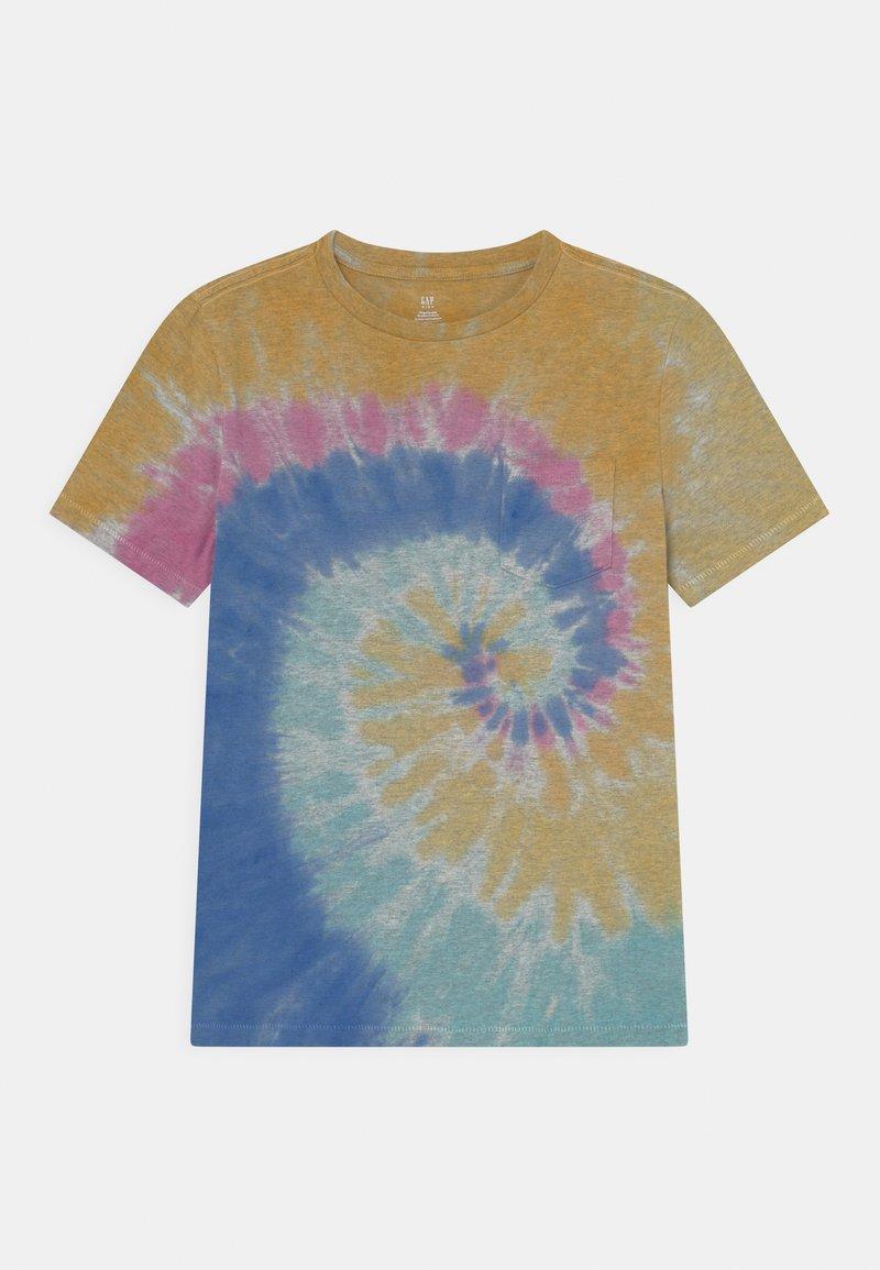 GAP - BOYS WASH EFFECT TEE - Print T-shirt - multi-coloured
