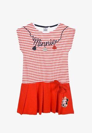 DISNEY MINNIE MOUSE  - Jersey dress - rot