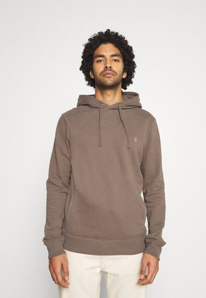 RAVEN OTH HOODY - Mikina s kapucí - washed khaki brown