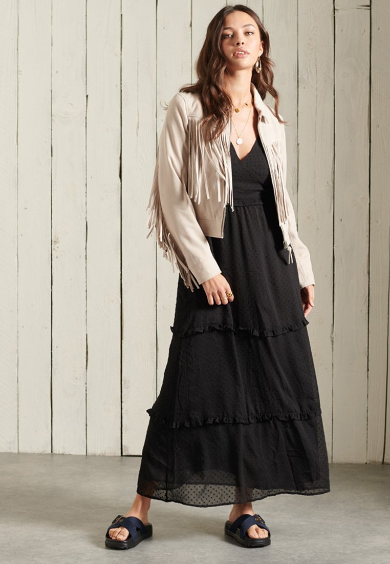 Superdry - MARGAUX - Maxi dress - black
